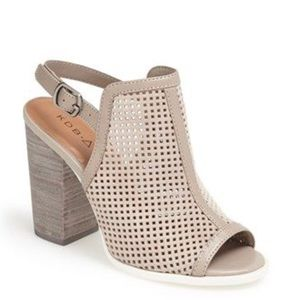 🔴Kelsi Dagger Brooklyn Goya Open Toe Heel